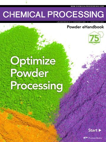 Optimize Powder Processing - Chemical Processing