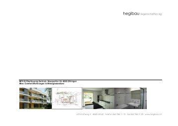 Comfort-Wohnungen in Minergiestandard - Homegate.ch