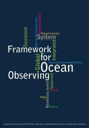 A Framework for ocean observing; 2012 - unesdoc - Unesco