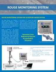 rouge monitoring system - Rohrback Cosasco Systems