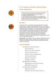 II./3.7. Daganatos betegségek sürgősségi ellátása Bevezetés A ...