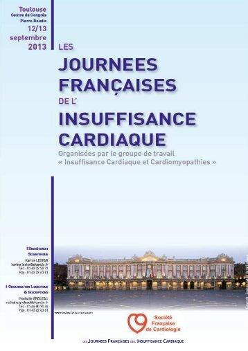 JFIC13 Programme préliminaire 130709 - CardiAuvergne