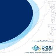 NFP Hírlevél bemutatkozó különszám - Nemzeti Drog Fókuszpont
