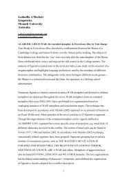 Abstracts (pdf) - Department of English