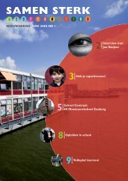 Download hier nr1 van SamenSterk - Samen Tussen Amstel en IJ