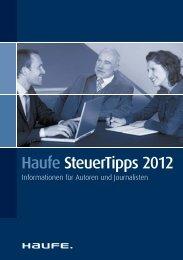 Haufe Steuertipps 2012