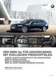 DER BMW 5er FÜR GROSSKUNDEN. MIT ... -  Walkenhorst