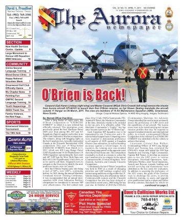 Apr 11 2011 - The Aurora Newspaper