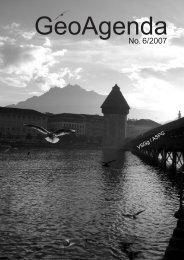 GeoAgenda 2007-6.indd - Verband Geographie Schweiz