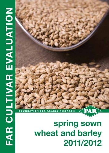 to view pdf of Spring sown wheat and barley 2011/2012