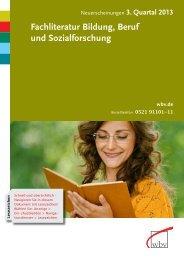 zum Download als PDF-Dokument - W. Bertelsmann Verlag