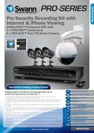 Pro Security Recording Kit with Internet & iPhone ... - i CCTV Systems