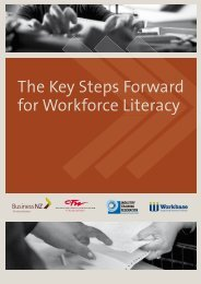 Key Steps Forward - Industry Training Federation