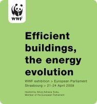 Efficient buildings, the energy evolution - WWF
