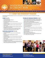 Exhibit and Sponsorship Programs