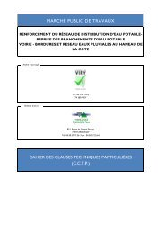 cctp - Mairie Viry