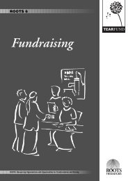 ROOTS 6 - Fundraising - The Tearfund International Learning Zone