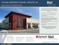 Placer Corporate Center Brochure