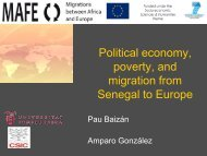 Political economy, poverty, and migration from Senegal to ... - Ined