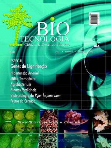 Genes de Lignificação Genes de Lignificação - Biotecnologia