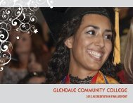 final report from HLC - Glendale Community College