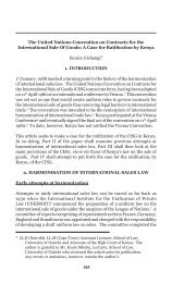 305 The United Nations Convention on Contracts for - Kenya Law ...