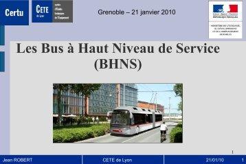 Le concept BHNS par Jean ROBERT - CoTITA