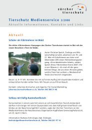 Tierschutz Medienservice 2/2008