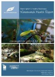 Manningham's Healthy Waterways Waterwatch Health Report