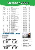 Quaterly Boat Schedules Oct-Dec copy.indd - Online Scuba Diving ... - Page 2