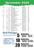 Quaterly Boat Schedules Oct-Dec copy.indd - Online Scuba Diving ... - Page 3