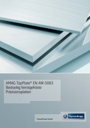 AMAG TopPlate - ThyssenKrupp Schulte GmbH