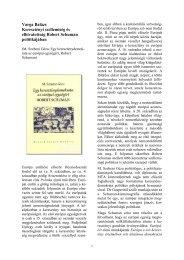 Keresztény szellemiség és elhivatottság 210 KB PDF ... - Grotius