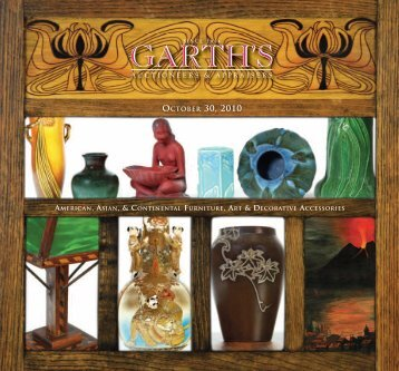 Garth'sOCT2010_brochure_Layout 1 - Garth's Auctions, Inc.