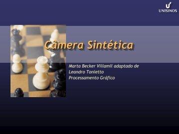 Câmera Sintética - Unisinos