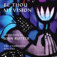 be thou my vision - Collegium Records