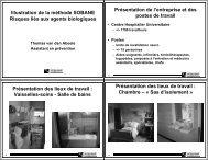 Observation - Unité Hygiène et Physiologie du Travail