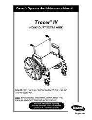 Tracer IV - Invacare