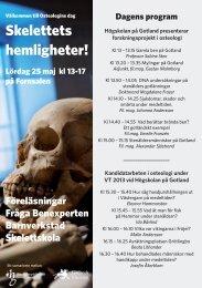 program - Gotlands Museum