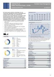 Vontobel Fund – Global Trend New Power – B-EUR ... - Raiffeisen