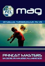 Offizielles Turniermagazin (Doppelklick pdf) - FC Luzern