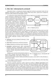 2. Zber dát v informačných systémoch - Hornad