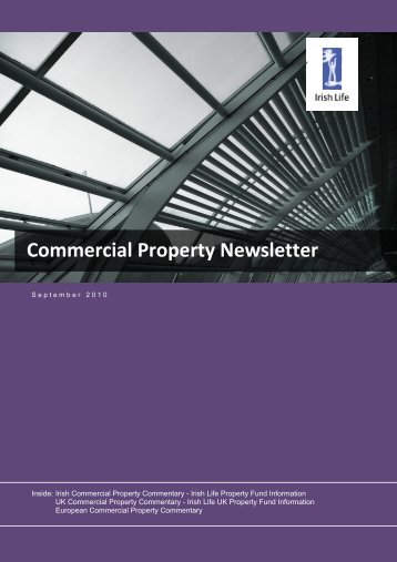 Commercial Property Newsletter - Irish Life