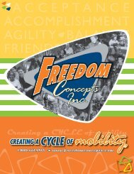 Product Catalogue - Freedom Concepts