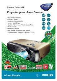 Proyector Philips - LCD Monroe
