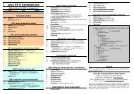 Java EE 6 Annotations - Cheat Sheet