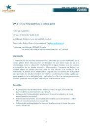 CFA 1 - 1ºc: La Física oceánica y el cambio global - Campus do Mar