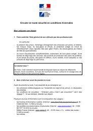 Campagne d'information - La Sécurité routière en Alsace