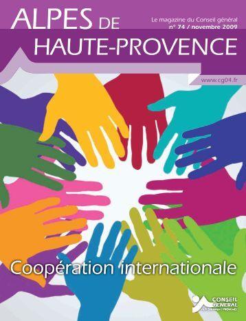 Actu en images - Conseil Général des Alpes de Haute Provence