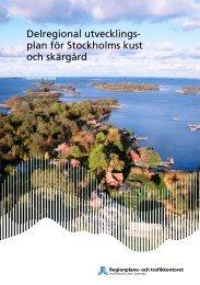 Delregional utvecklingsplan för Stockholms kust och skärgård